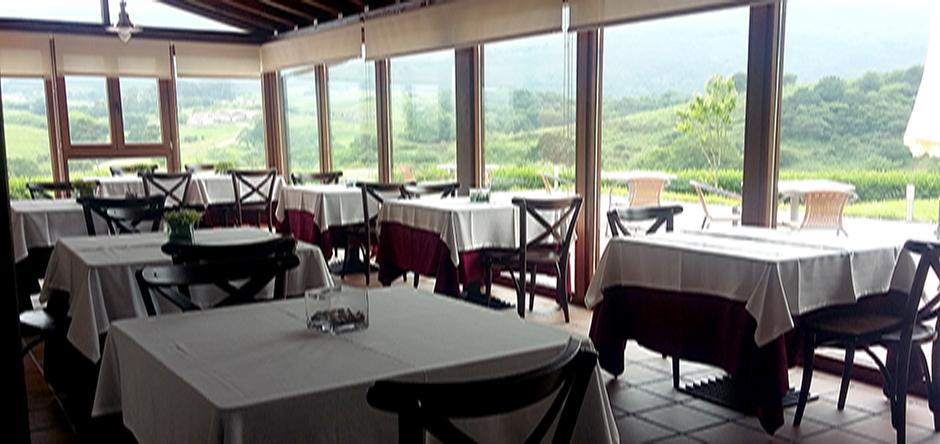 Cenador con vistas