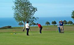 Campo de golf Llanes, actividades Hotel Rural en Llanes Puerta del Oriente