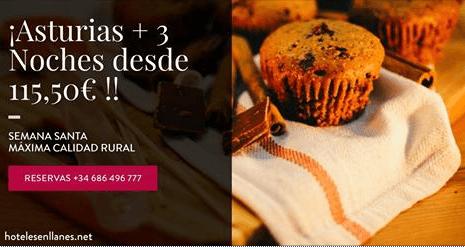 Oferta Semana Santa en Hotel en Llanes