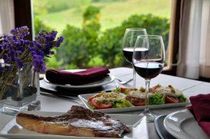 Cenas tradicionales con carne ecológica
