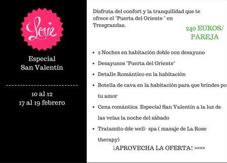 Oferta san valentin en Llanes- Hotel en Llanes Puerta del Oriente