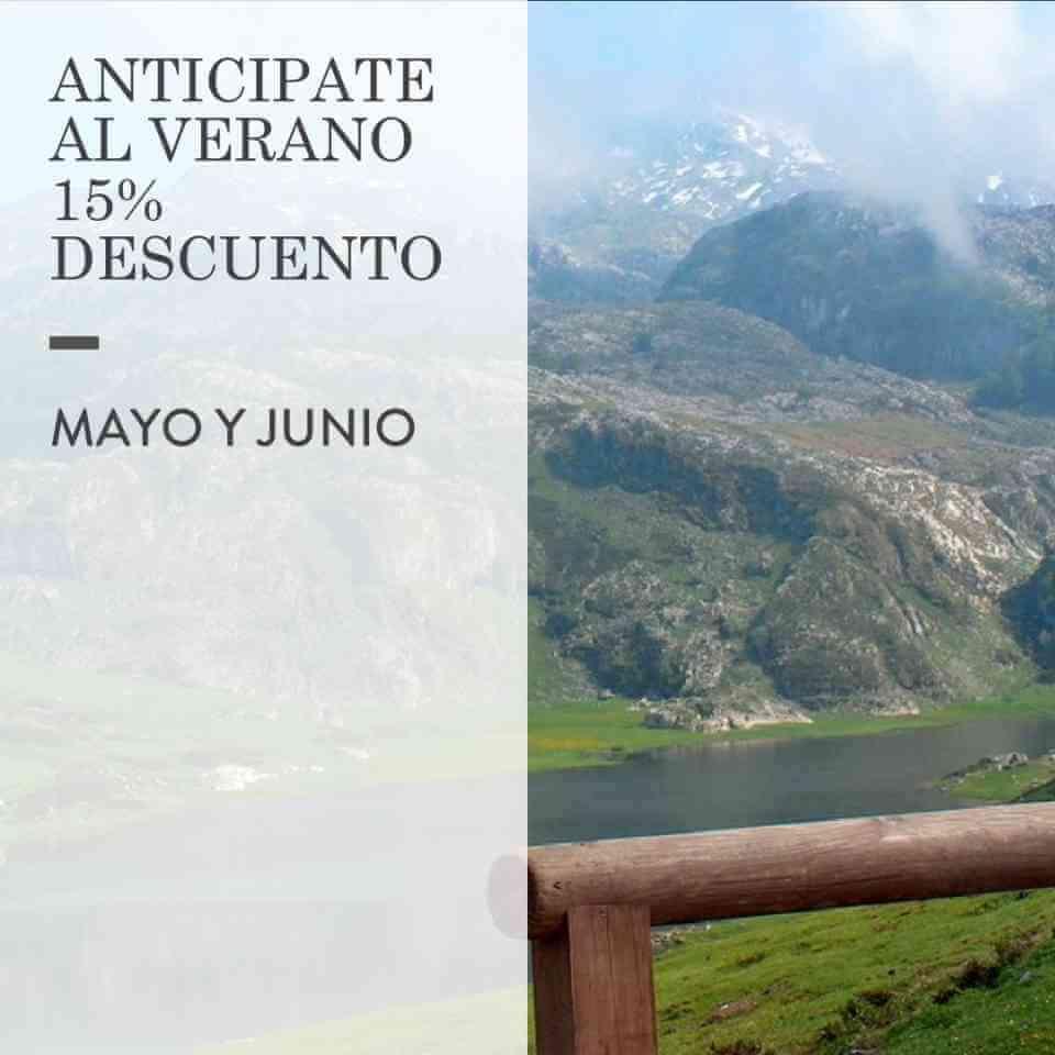 Anticipate al verano con nuestra oferta descuento para los meses de Mayo y Junio